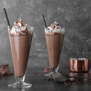 chocolate hazelnut milk, dairy free chocolate milk, vegan chocolate milk, hazelnut milk, hazel nutmilk