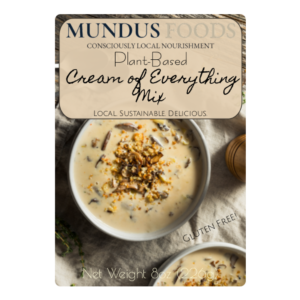 plant based cream soup, vegan cream soup, dairy free cream soup, nondairy cream soup, dairy free cream of mushroom, vegan cream of mushroom, vegan cream of potato, plant based cream of potato