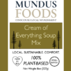 vegan cream soup mix, vegan soup mix, cream soup mix