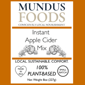 apple cider mix, healthy apple cider mix, plant based apple cider, vegan apple cider