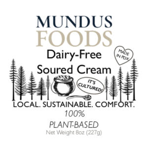 dairy free sour cream, plant based sour cream, vegan sour cream