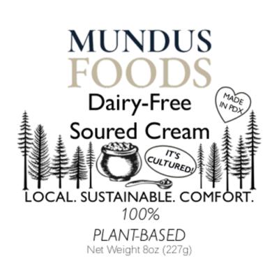 dairy free sour cream, plant based sour cream, vegan sour cream
