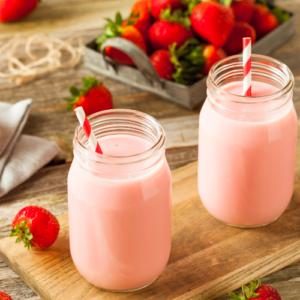 strawberry milk mix, vegan strawberry milk mix, vegan nesquick, vegan strawberry milk, plant based strawberry mix, nondairy strawberry milk mix